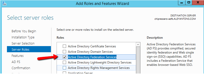 Setting up an ADFS server for use with Pressero SSO